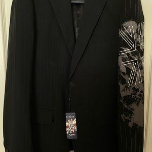 Black Men's Blazer Jacket